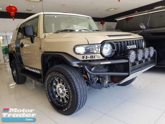 TOYOTA FJ CRUISER OFF ROAD PACKAGE 4.0 PETROL (A) | Used Car for sales as advertised on Motor Trader for RM 142,000 in Kuala Lumpur