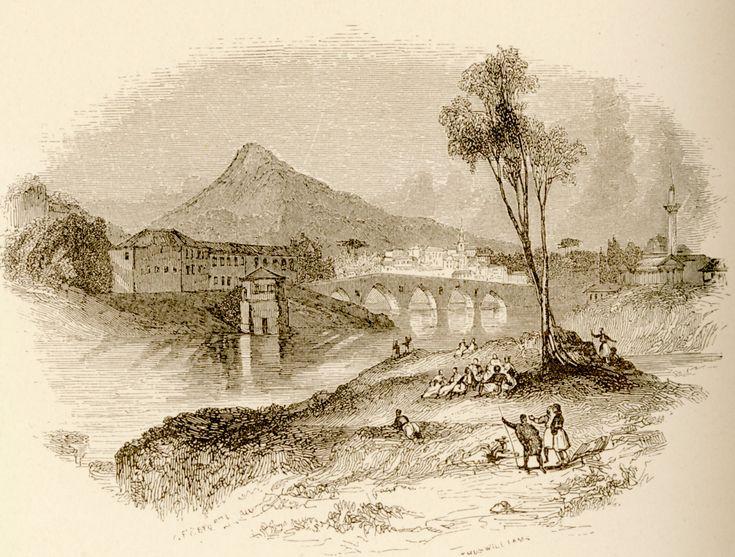 Η γέφυρα Αλκαζάρ στη Λάρισα. - WORDSWORTH, Christopher - ME TO BΛΕΜΜΑ ΤΩΝ ΠΕΡΙΗΓΗΤΩΝ - Τόποι - Μνημεία - Άνθρωποι - Νοτιοανατολική Ευρώπη - Ανατολική Μεσόγειος - Ελλάδα - Μικρά Ασία - Νότιος Ιταλία, 15ος - 20ός αιώνας