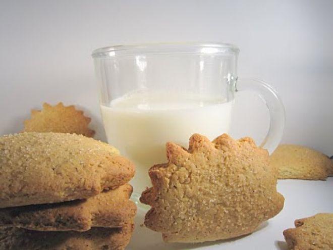 Biscotti al grano saraceno e zucchero di canna