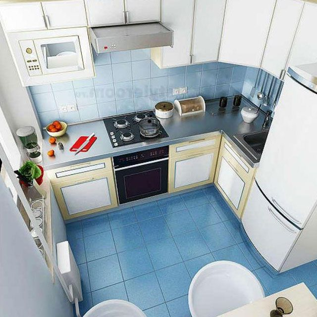 интерьер маленькой кухни 6 кв. метров - Поиск в Google
