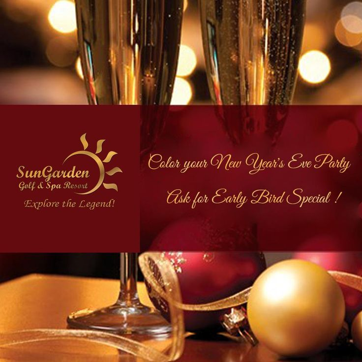 Do you want to have a great New Year's Eve? Check out our offers! http://sungardenresort.ro/news-archive/149-color-your-new-year-s-eve-2015
