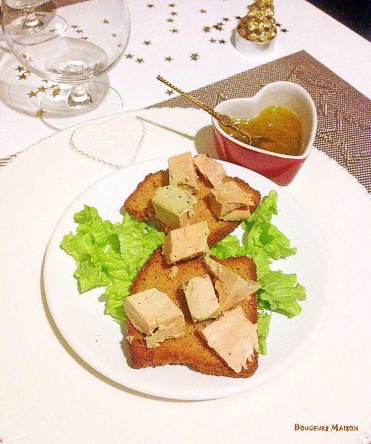 Foie gras sur pain d'épices
