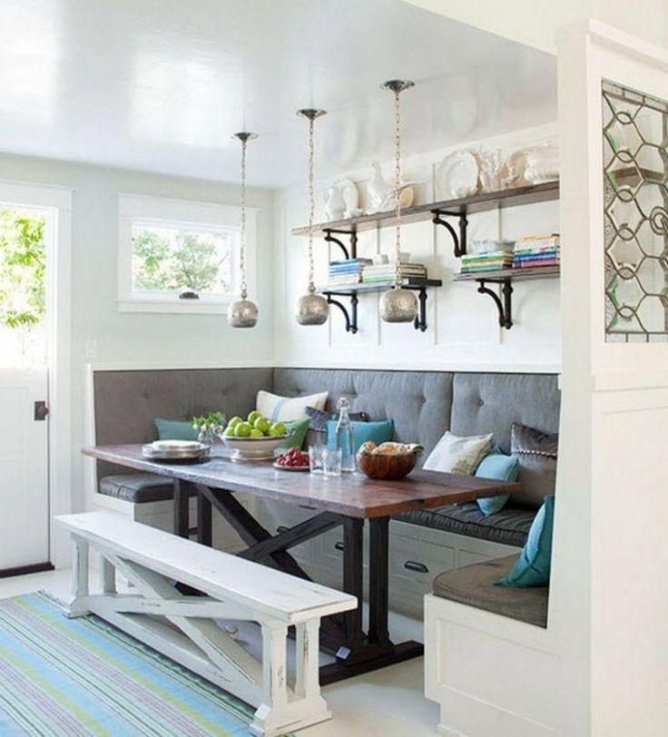 Die besten 25+ Kleine eckbank Ideen auf Pinterest Sitzbank mit - durchreiche kuche wohnzimmer modern