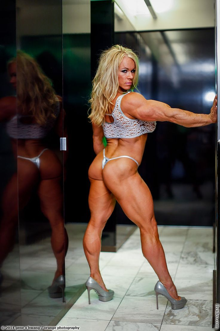 muscle ass girl