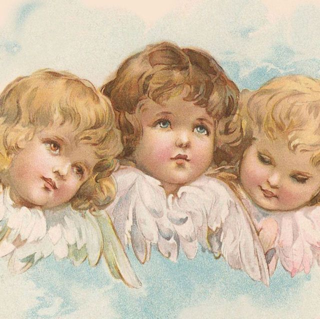 sweet little vintage angel faces