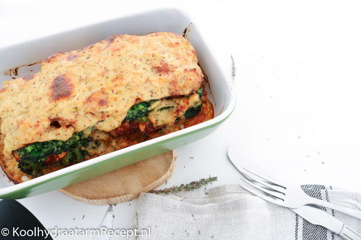 Een verrukkelijke lasagne van vroeger omgetoverd tot een overheerlijke koolhydraatarme lasagne. Lasagne met broccoli en champignons maakte ik in onze verkeringstijd al voor Anna-Karina. Dat was steevast een groot succes.