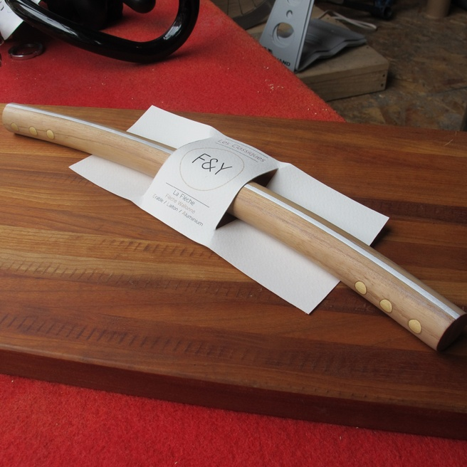 F & Y wooden handlebar