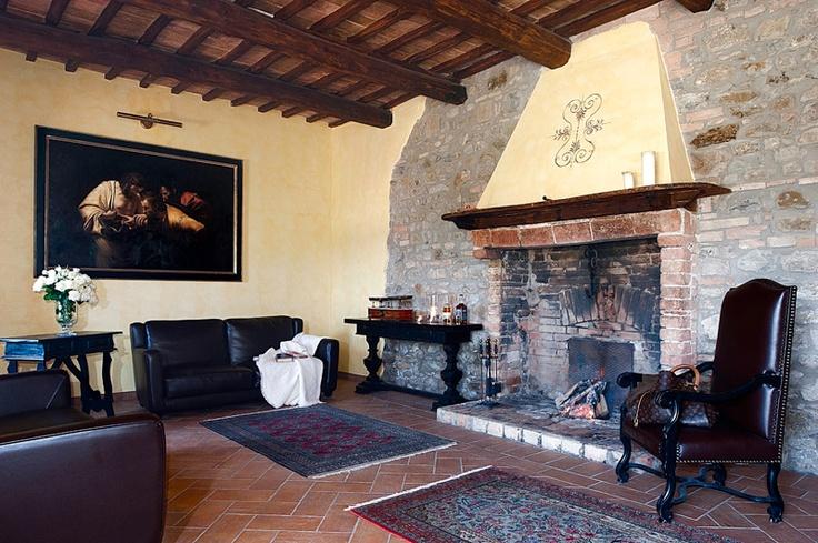 Italian interiors @ Il Borgo San Faustino Relais (Orvieto).