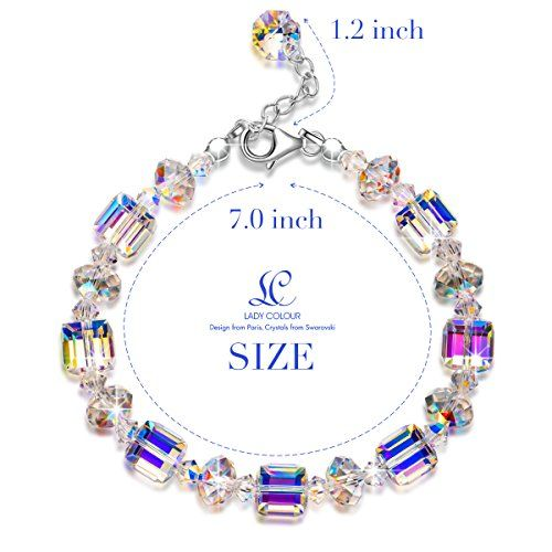af41abf330f50 LadyColour-A-Little-Romance-Crystal-Bracelet-Series-Made-with ...