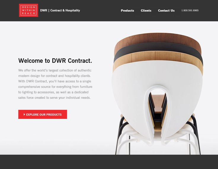 Are you in the contract world in the USA? Here you can find the best people to help you create your project: Design Within Reach Contracts team! And STUA is key part in this collection: Discover their new website. www.dwrcontract.com