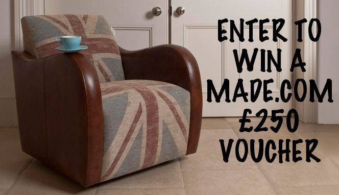 Enter the Mummy Rated competition for your chance to win a made.com £250 voucher: http://mummyrated.co.uk/2013/made-com-competition-250-voucher/