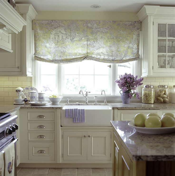 French Country Kitchen- my little kitchen will be adorable!  The window, cabinets, SINK, and countertops will be mine!    ha ha ha