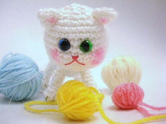 Pattern, Tutorial, Amigurumi Pattern, Amigurumi Cat ...