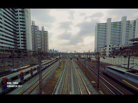 [Railway]경부선 KTX, 무궁화호, 수도권 전철 Gyeongbu Line Train, Seoul, KOREA