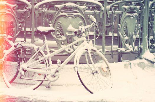 metro + snow paris