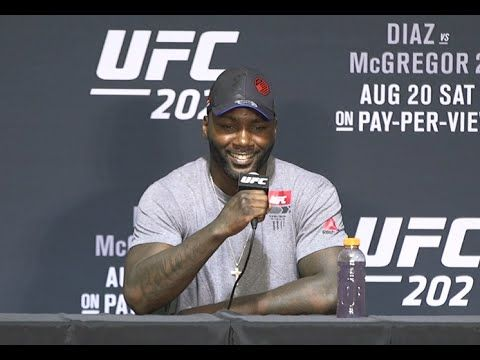 UFC (Ultimate Fighting Championship): UFC 202: Anthony Johnson Post-fight Press Conference