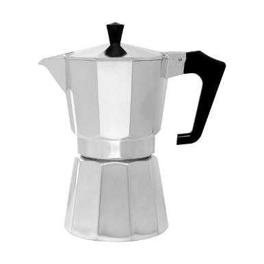 Esperto ist ein wahrer Experte, wenn es um die Zubereitung von original italienischem Espresso geht. Man füllt Wasser in den unteren Teil der Kanne, setzt einen Siebeinsatz darauf, füllt ihn mit Espressopulver und schraubt das Oberteil auf. Jetzt ab auf den Elektro-, Ceran- oder Gasherd - und kurz darauf duftet es nach frischem Kaffee. Warum man diese Art der Zubereitung in Italien so sehr schätzt: Es geht schnell, der Kaffee ist sehr heiß - und die Kanne lässt sich leicht reinigen.
