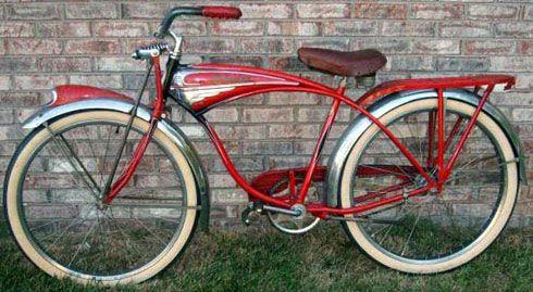 old bicycles | 1952_Schwinn_Phantom_vintage_bicycle_Cambridge Bicycle