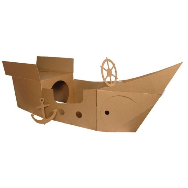 Cardboard Pirate Ship Wheel - WoodWorking Projects & Plans
