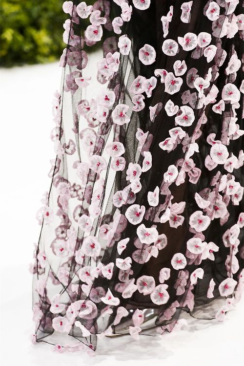 Défilé Christian Dior: Printemps-été 2013