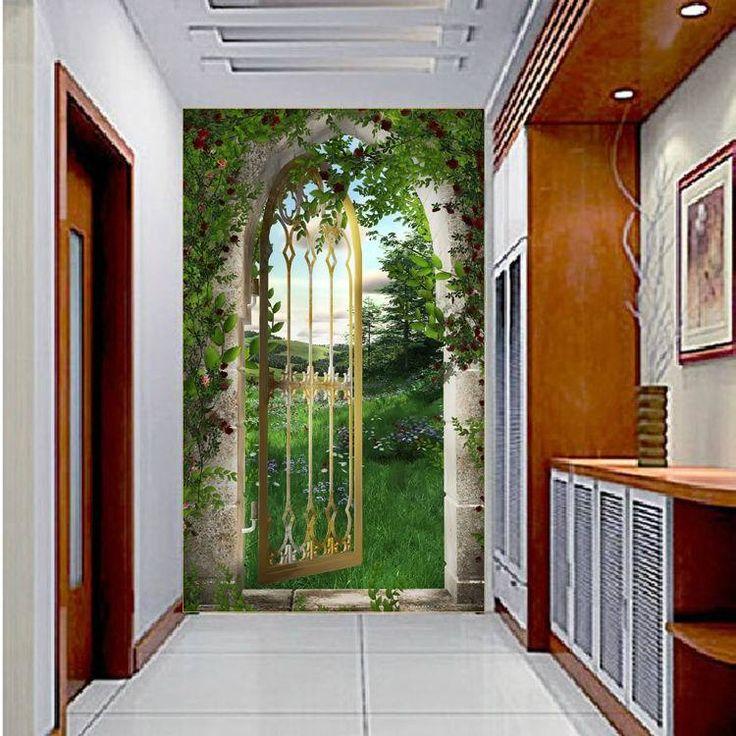 Mosaico moda foto del papel pintado 3d paneles de pared - Papel pintado 3d ...