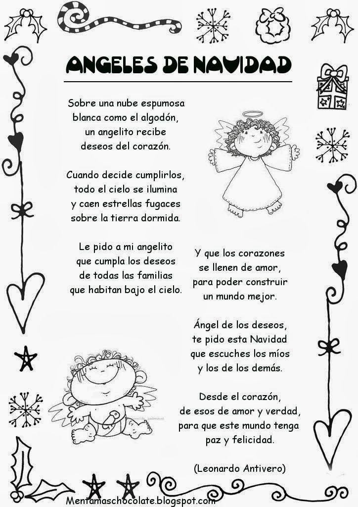 Si quieres aprender, ENSEÑA.: Poesías Navideñas