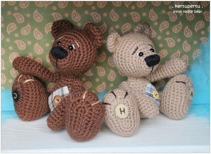 Amigurumi Janes : 80 best images about Amigurumi Bears & Bunnies on Pinterest