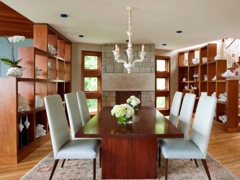 Decoration Furniture As A Open Living Space Half Wall Room Dividers By Mahogany Bookcases Define