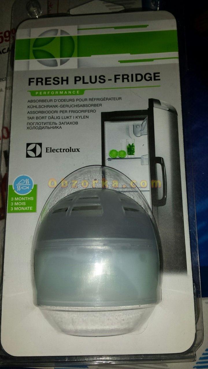 Поглотитель запаха в холодильнике - Electrolux спешит на помощь!