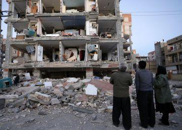 El terremoto entre la frontera de Irán e Irak, en imágenes