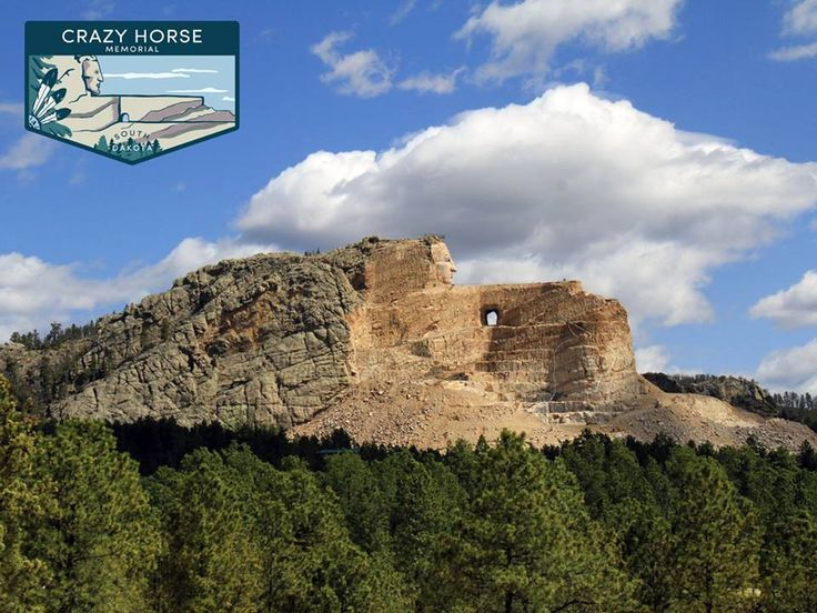 What is the best way to experience Crazy Horse Memorial, one of South Dakota's ‪#‎TheGreat8‬:  A) The Volksmarch, a 6.2-mile hike to stand on the arm of greatness.  B) Three words: Laser Light Shows.  C) Get in touch with your roots at the Indian Museum of North America.
