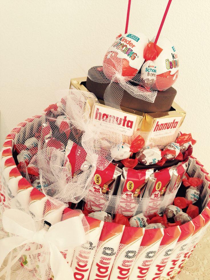 Hanuta.KitKat etc Torte - o.Anleitung