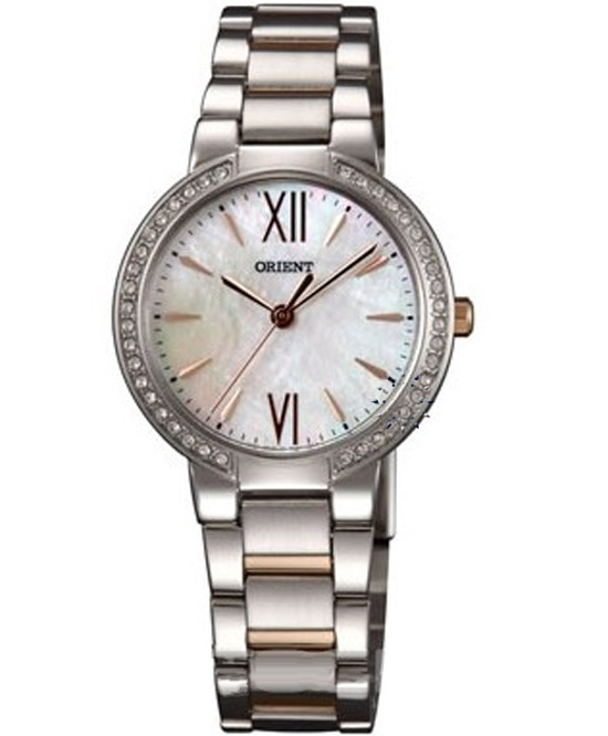 ORIENT Crystal Ladies Stainless Steel Bracelet  Τιμή: 199€  http://www.oroloi.gr/product_info.php?products_id=31097
