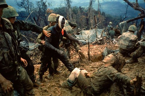 Forty years after the Paris Peace Accords were signed in January 1973, LIFE revisits one of the most indelible, searing photographs made during the long, divisive war in Vietnam.  (Larry Burrows—Time & Life Pictures/Getty Images)