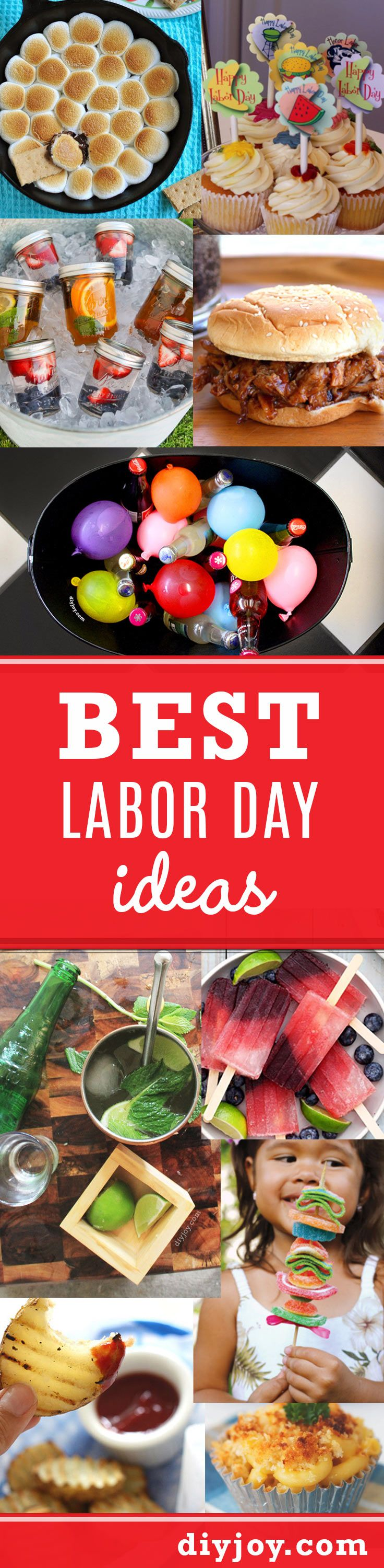Best Labor Day Ideas for Party Decor, Food and Drinks | DIY Party Planning for a Holiday Crowd