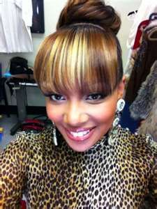 Excellent 1000 Images About Ponytails With Bangs On Pinterest Bangs Buns Short Hairstyles For Black Women Fulllsitofus