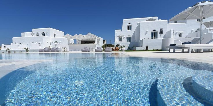 White Dunes Luxury Suites || Offering Cycladic-style suites with Aegean Sea view and a spacious balcony or terrace, White Dunes Luxury Suites in Santa Maria has a seasonal outdoor pool with sea view.
