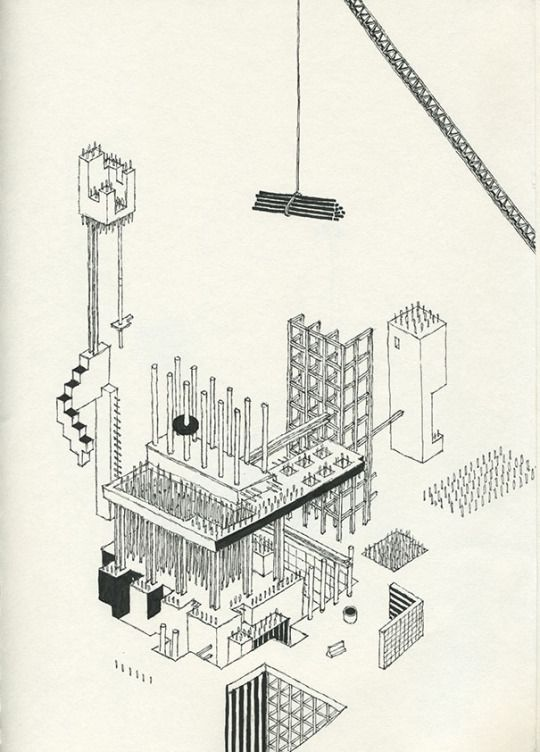 'Unfinished Construction Sites' by Andrew Degraff, 2015.