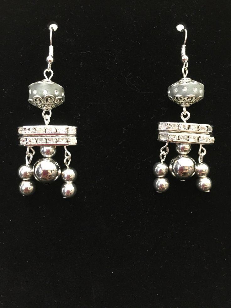 Tibetan inspired earrings