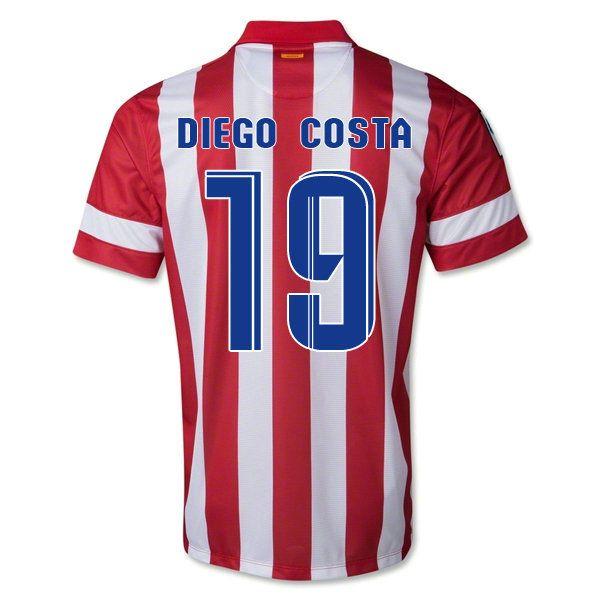 Maillot de foot Atletico Madrid Domicile 2013 2014 (19 Diego Costa) pas cher http://www.korsel.net/maillot-de-foot-atletico-madrid-domicile-2013-2014-19-diego-costa-pas-cher-p-3660.html