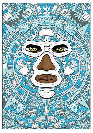 El luchador Azteca