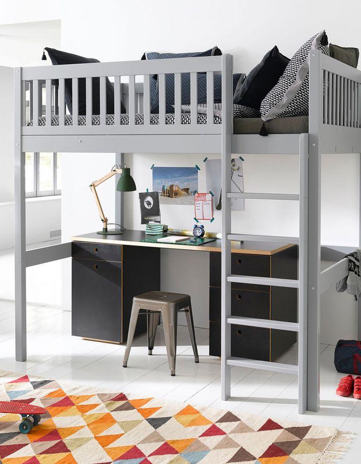 8 best kids lits suspendus images on pinterest child. Black Bedroom Furniture Sets. Home Design Ideas