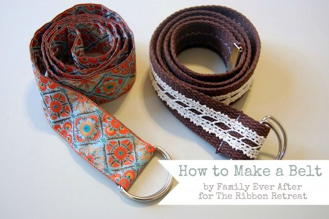 Learn how to make stylish belts, perfect for accessorizing with Renaissance Ribbons
