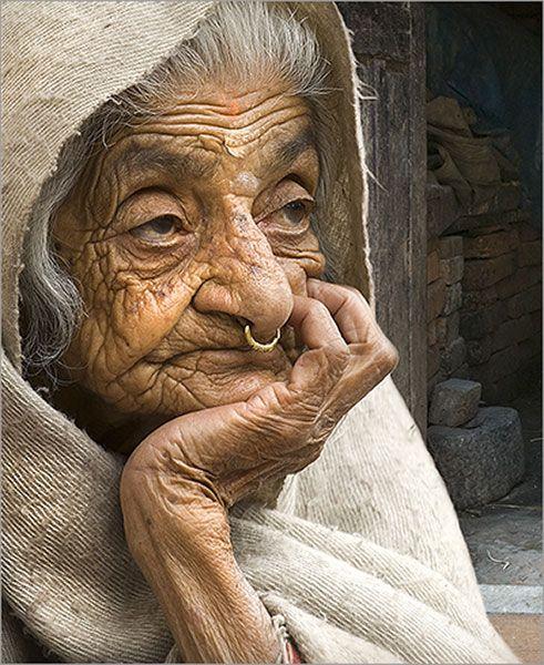 #Retrato #Anciana