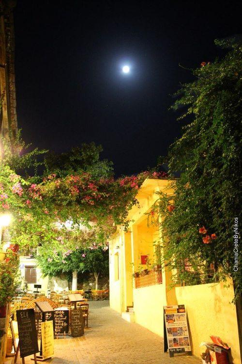 VISIT GREECE| Crete, full moon,Greece #DreamYourGreece #VisitGreece #Expedia