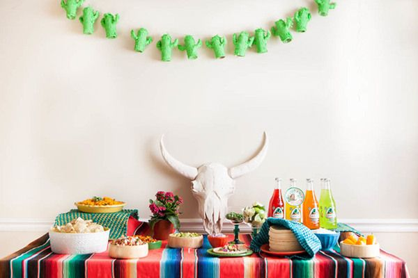 Inspiration for a bright Cinco de Mayo fiesta!