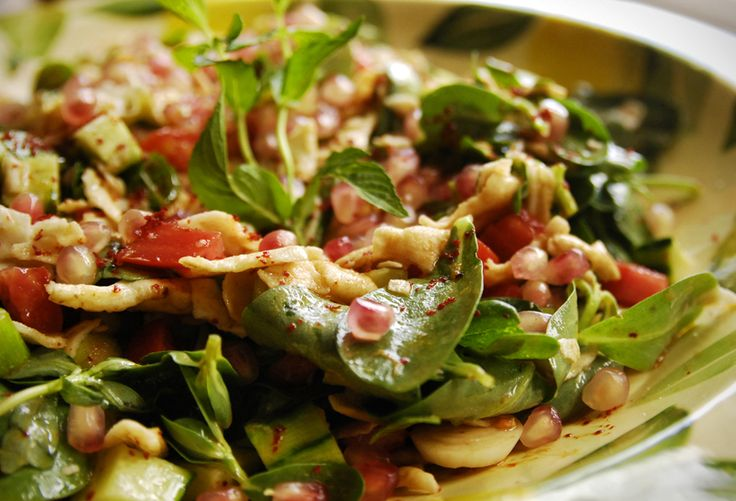 Salade Fattouche - Épices de CruÉpices de Cru