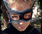 COMBO Super Bat Cape & Mask PDF Pattern. $7.50, via Etsy.