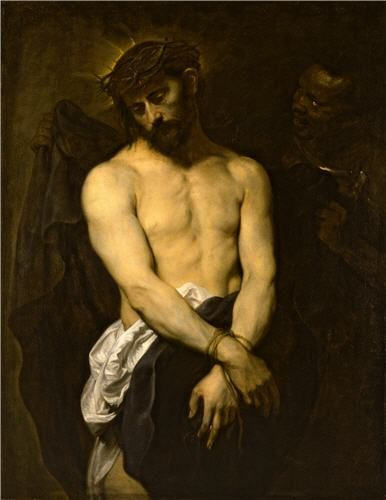 Ecce Homo Genoa, about 1625-6 Oil on canvas 101.5 x 78.7 cm Christ, crowned with…