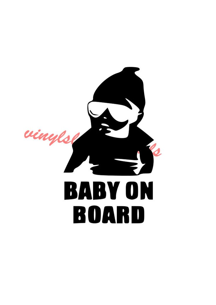 Baby On Board Decal, Custom Car Sticker, automotive design, car decor sticker apple macbook decal skin decor by VinylslicerDecals on Etsy